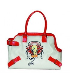 BORSA TRASPORTINO CANI IN SIMILPELLE TWEETY CM 40X...