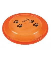 Gioco per Cani Disc Dog Activity cm. 23 colore nero Trixie