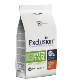 Exclusion Diet Dog Intestinal Small Breed Maiale e...