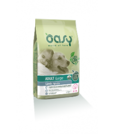 Oasy Dog Adult Large Agnello Kg. 12 alimento compl...