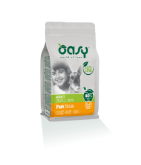Oasy Dog Adult Small / Mini Maiale 800 g