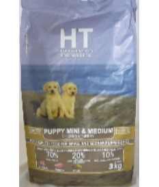 HT DOG SUPERPREMIUM PUPPY MINI E MEDIUM POLLO TACC...