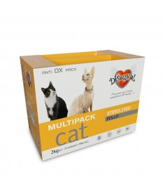 Disugual Cat Multipack Sterilised Pollo alimento c...