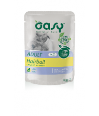 Oasy Cat Adult Hairball 85 g Bocconcini in salsa