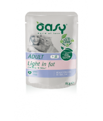 Oasy Cat Adult Light 85 g Bocconcini in salsa