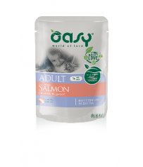 Oasy Cat Adult Salmone 85 g Bocconcini in salsa