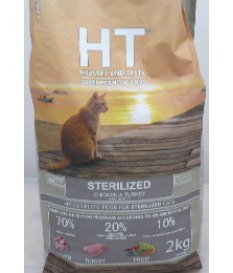 HT CAT STERILIZED POLLO E TACCHINO Kg. 2 SUPERPREM...