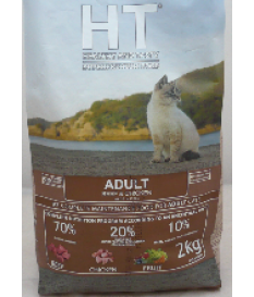 HT CAT ADULT MANZO E POLLO Kg. 2 SUPERPREMIUM PROF...