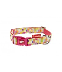 Collare Cani regolabile Color 15 mm x 25-40 cm Ferribiella HI351-XR
