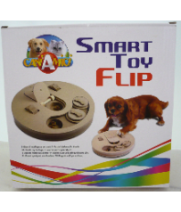 GIOCO DI INTELLIGENZA PER CANI SMART TOY FLIP CROCI C6098695