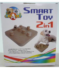 GIOCO DI INTELLIGENZA PER CANI SMART TOY 2 IN 1 CROCI C6098696