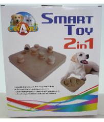 Gioco di Intelligenza x Cani Smart Toy 2 in 1 Croci C6098696