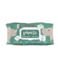 Salviette detergenti Cani e Gatti 40 maxi salviette Muschio bianco Fer. IGN50MUS