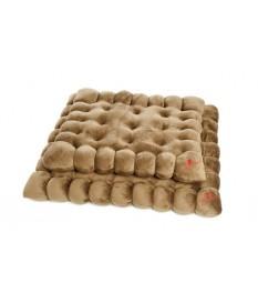 Cuccia per Cani - Biscottone Marrone cm. 65x55 Fer...