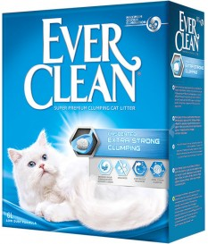 Lettiera x Gatti Ever Clean Unscented Extra Strong...